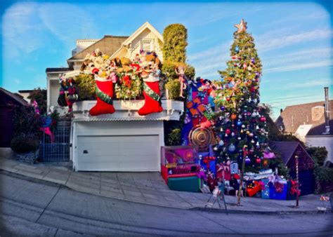 best decorated holiday houses san francisco best light displays in the sf bay area