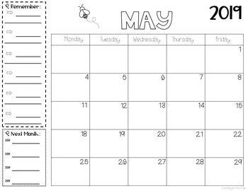 monthly printable calendars   horizontal  grace   chaos