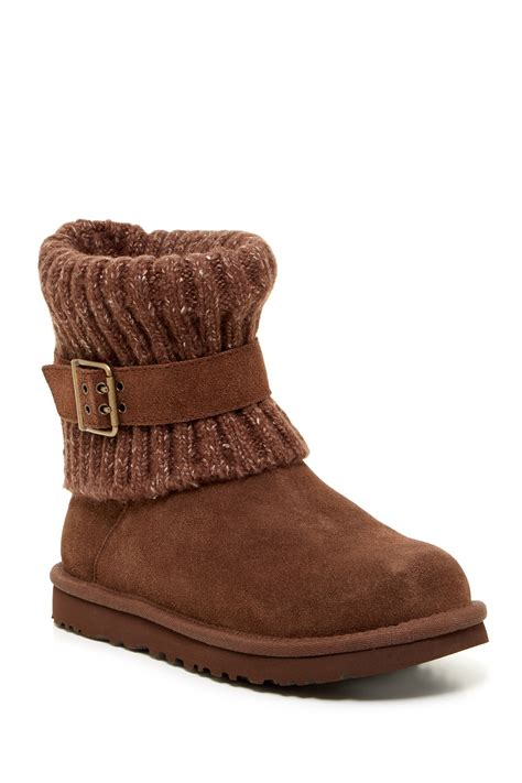 cambridge boots cambridge knit faux fur lined boot by ugg australia on