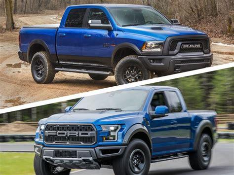 Dodge Ram Rebel Vs Raptor by 2017 Ford Raptor Vs Ram Rebel Best New Cars For 2018