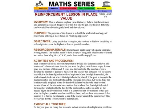 free printable lesson plans place value counting number worksheets 187 place value riddle worksheets