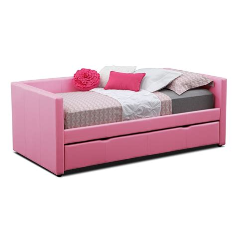 pink trundle bed classic accent from gorgeous daybed with trundle