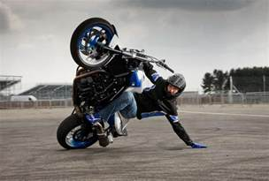 bmw s new stunt rider in at goodwood this weekend mcn