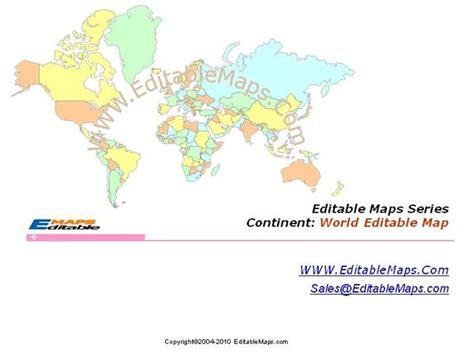 editable world map image world map world editable map world powerpoint map