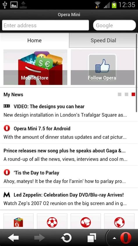 opera browser for android 5 best web browsers list for android