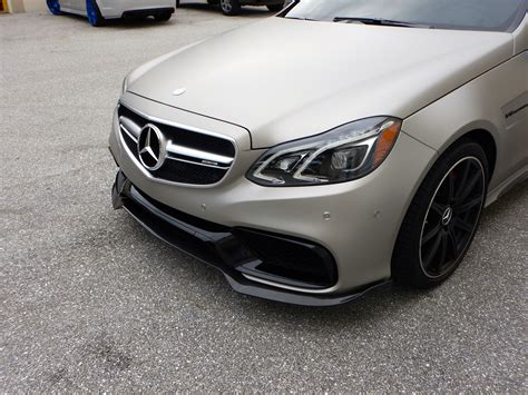 S Rw rw carbon 2014 e63 amg carbon fiber lip mbworld