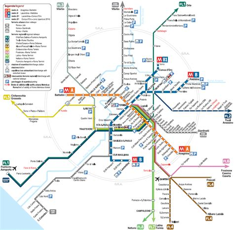 rome metro map rome ooi travel guide