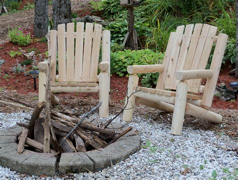outdoor log adirondack chairs adirondack log chair dundalk canada barrel saunas