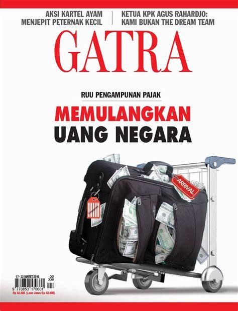 Majalah Gatra 2016 jual majalah gatra 17 23 maret 2016 scoop indonesia