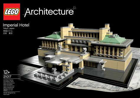 Architectural Model Kits by First Pictures Of Lego Architecture 21017 Imperial Hotel