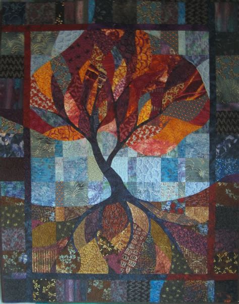Tree Quilts by Tree Of Quilt Tree Of