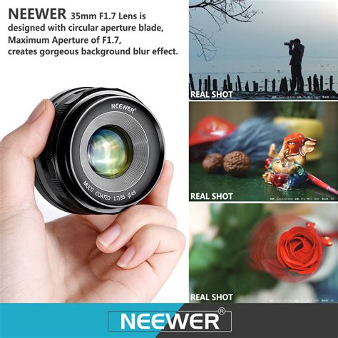 Neewer 35mm F1 7 2 neewer nw e 35 1 7 35mm f 1 7 manual focus prime fixed