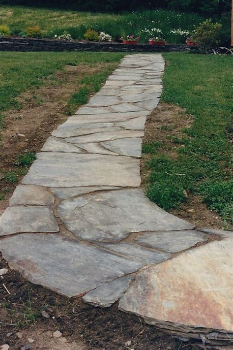 Design Ideas For Flagstone Walkways 28 Best Flagstone Path Ideas Images On Pinterest Flagstone Walkway Path Ideas And Paths