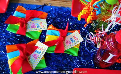 fanciful events summer themed parties throw a beach ball summer party for kids
