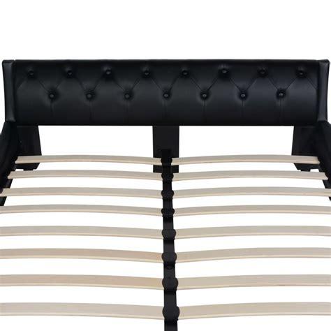 matratze 140x200 sale vidaxl bett mit matratze kunstleder 140x200 cm schwarz