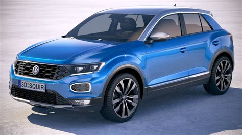 volkswagen models volkswagen t roc 2018 3d model turbosquid 1200903
