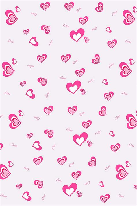 cute background pattern love 640x960 hd iphone wallpape love iphoneかわいい壁紙集 heart
