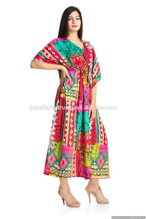 indian pattern kimono indian kaftan kimono sleeves plus size long maxi dress