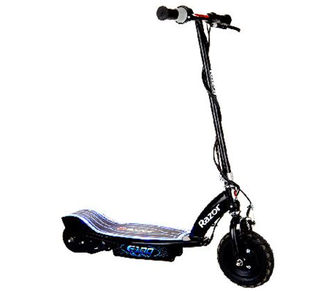 Razor E100 Glow Electric Scooter With Led Lights Qvc Com