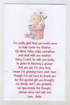 baby shower poems from unborn baby 1000 ideas about baby shower poems on baby