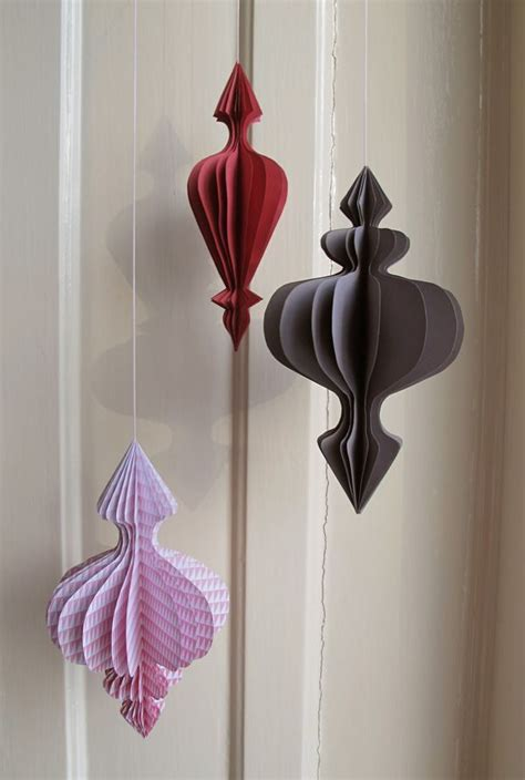 Paper Ornament - attractive ornaments from paper bored