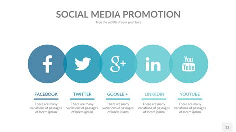 Social Templates by Social Media Business Powerpoint Presentation Template By
