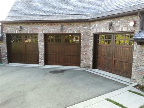 Garage Door Stain Custom Stain Grade Garage Doors Selections Madden Door Martinez Ca Antioch Concord Walnut