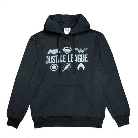 Jaket Hoodie Justice League 313 Clothing justice league s printed fleece popover hoodie walmart canada