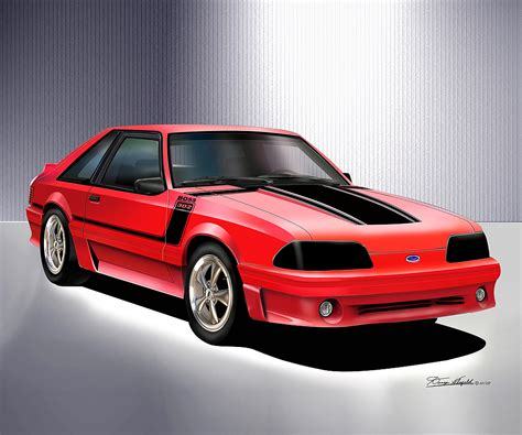 ford mustang prints 1979 1993 ford mustang prints posters by