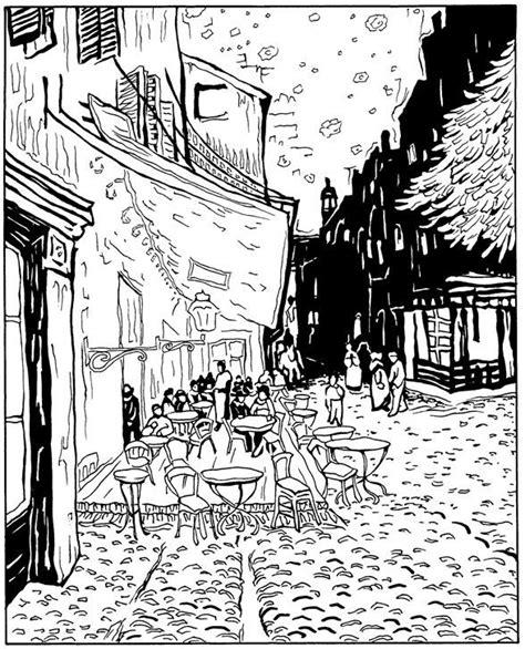 coloring book vincent van 3791343319 258 best images about coloring famous art on pablo picasso vincent van gogh and