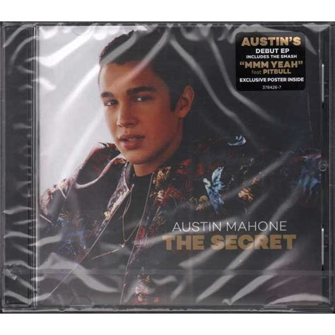 Cd Mahone The Secret the secret by mahone cd with e record