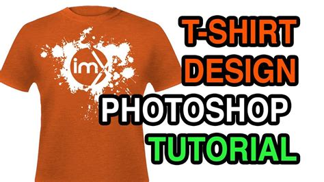 design a t shirt in photoshop tutorial how to design a t shirt in photoshop with negative images
