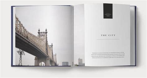 New York Coffee Table Book Coffee Table Book Editorial Design Park Hyatt New York