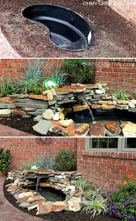 25 diy water features will bring tranquility relaxation to any home architecture design
