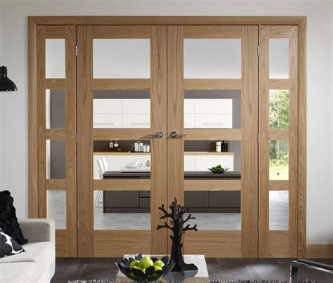 Interior Oak French Doors With Glass Interior Oak Doors With Glass