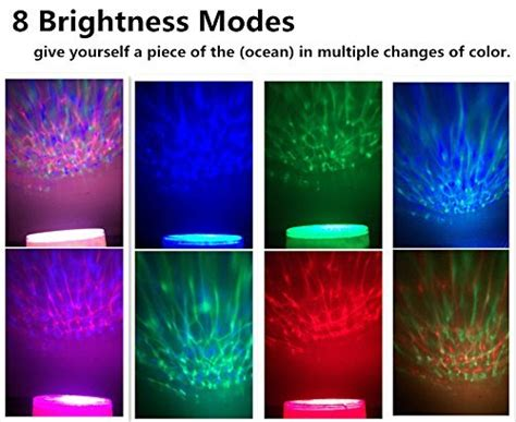ocean waves projector night l ohuhu ocean wave night light projector and music player