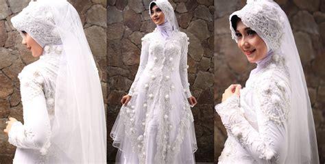 Gamis Pengantin model baju gamis pengantin model gaun pengantin muslim