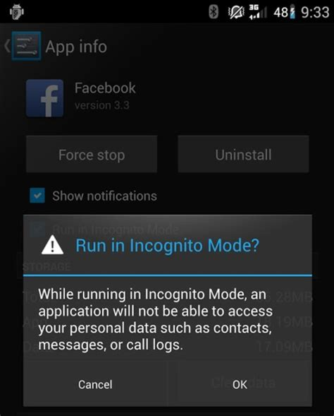 disable incognito mode android cyanogenmod roms will soon come with incognito mode for apps