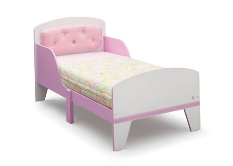 upholstered toddler bed delta children jack jill toddler bed upholstered tufted
