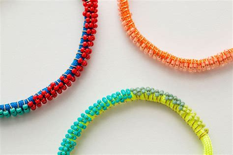 seed bead diy 2 modern takes on diy beaded bracelets brit co