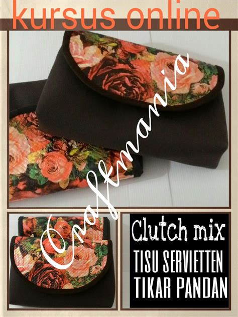 Clutch Anyaman Pandan 01 craftmania