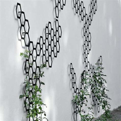 Cool Trellis Ideas decorative trellis system comb ination by flora digsdigs