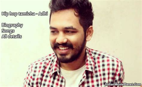 Hip hop Tamizha wiki biography songs