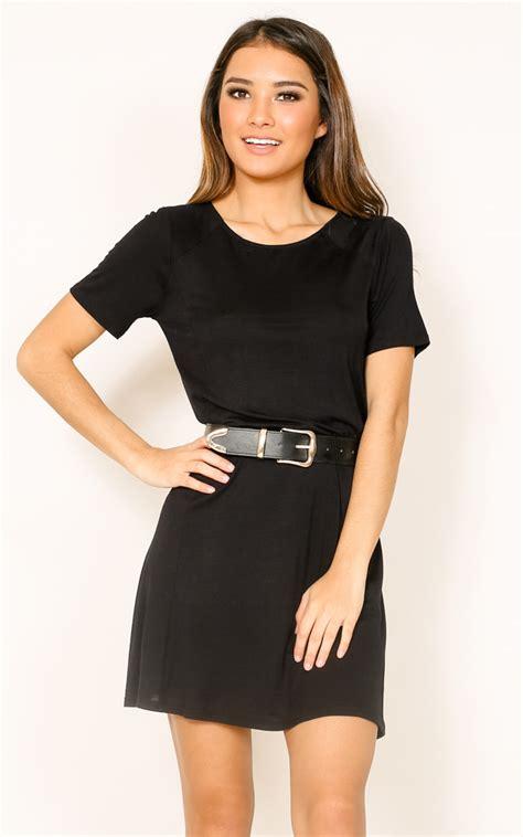 Dres Mercy mercy on my dress in black showpo