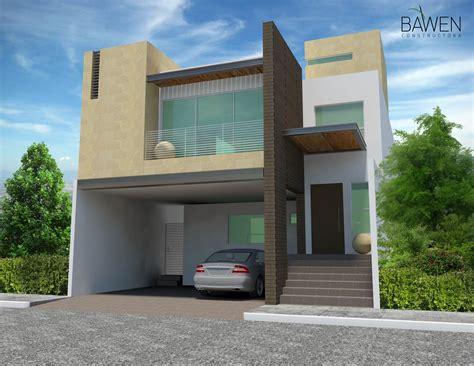 casas modernas renders fachadas casas modernas genuardis portal mi casa