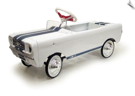 History of the Mustang Pedal Car Ride On Toy