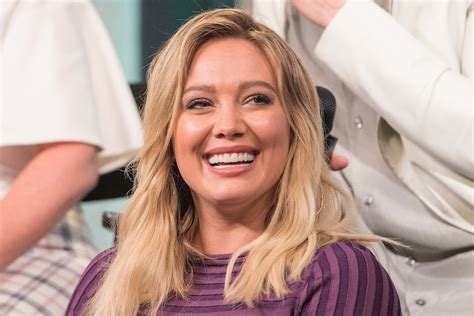 Hilary Admits To Feeling Pressure To Get by Hilary Duff Said She Used To Be Insecure About This