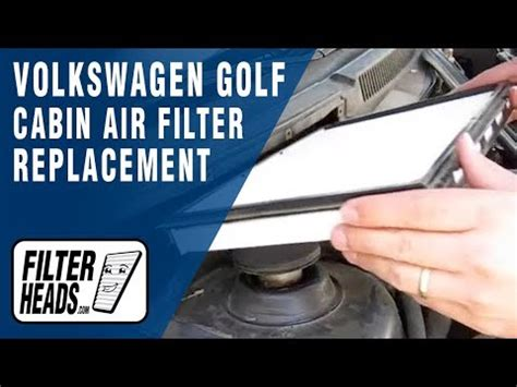 How Often To Change Cabin Air Filter by How To Replace Cabin Air Filter Volkswagen Golf