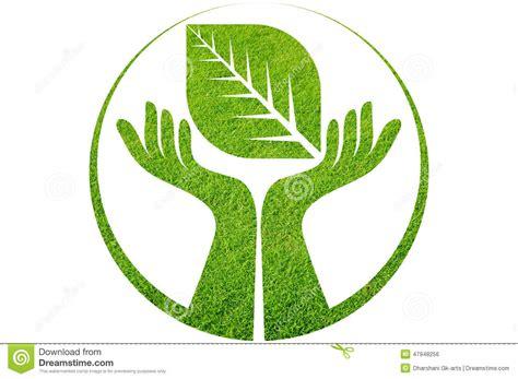Design Plans by Hand Leaf Logo Stock Illustration Image 47948256