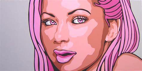 Pop Portrait Artists Pop Chimera